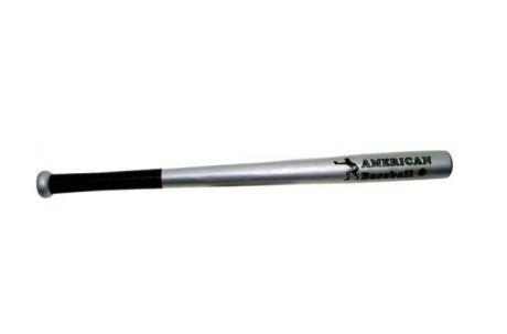 "Baseballschläger Holz 26"" silber"