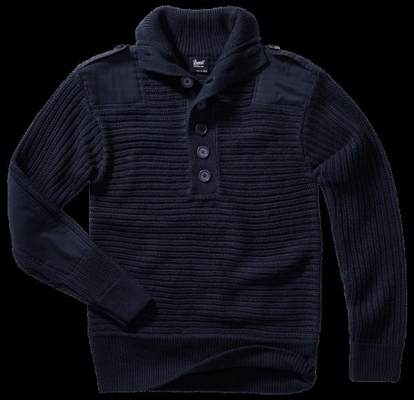 Brandit Alpin Pullover - navi - vorn - armyoutlet
