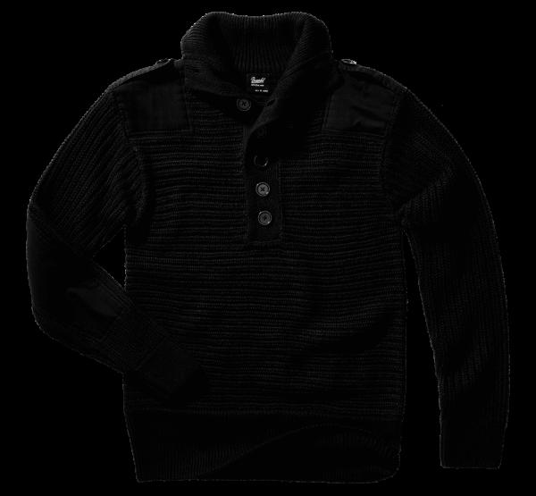 Brandit Alpin Pullover - schwarz - vorn - armyoutlet