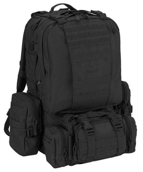 Brandit US Cooper Modular Pack 45L schwarz vorn - armyoutlet.de