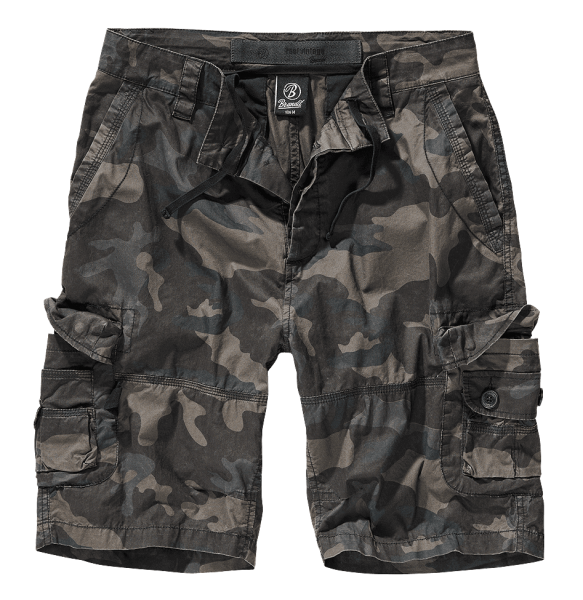 Brandit Ty Shorts darkcamo vorn armyoutlet.de