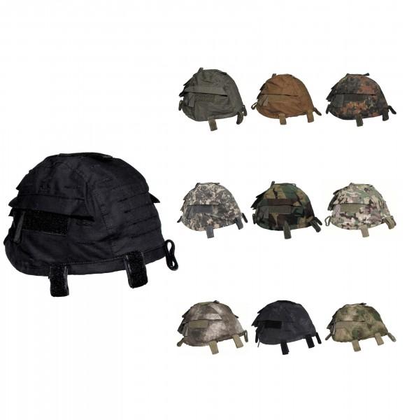 Helmbezug mit Taschen groessenverstellbar