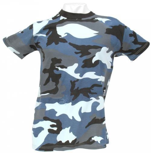 Tarn T-Shirt sky camo