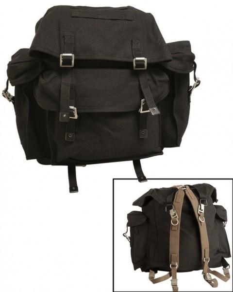Original BW Rucksack mit Tragegestell schwarz