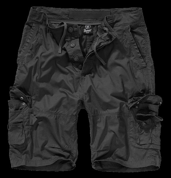 Brandit Ty Shorts schwarz vorn armyoutlet.de