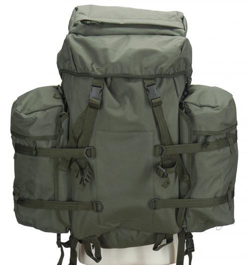US Mountain Rucksack oliv inkl. 2 Rucksacküberzügen