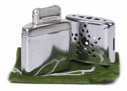 Taschenwärmer für Feuerzeugbenzin
