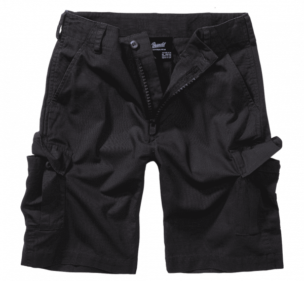 Brandit Kids BDU Ripstop Shorts - schwarz - vorn - armyoutlet
