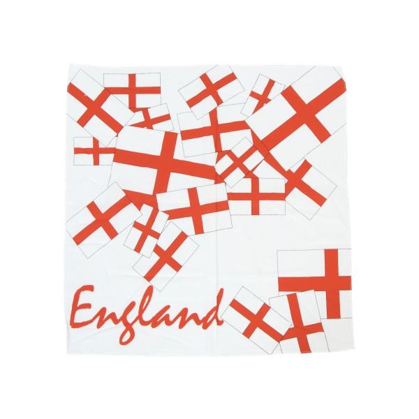 Bandana England Fahne rot