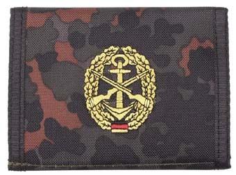 BW Marine Geldbörse flecktarn