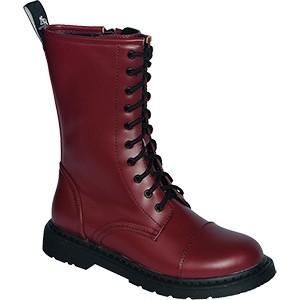 Knightsbridge Dark Creationz 10 Loch Ranger Boots oxblood red