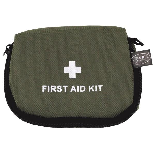 Erste Hilfe Set klein oliv verpackt