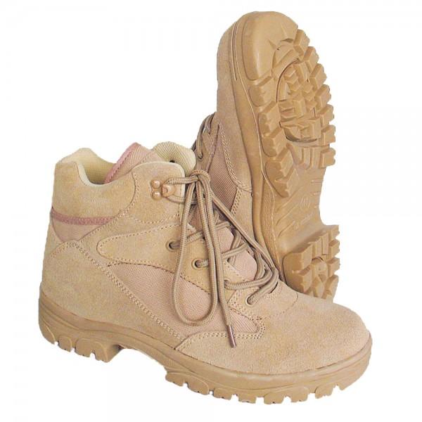 McAllister Semi Cut Boots beige