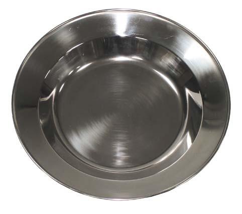 Suppenteller Edelstahl