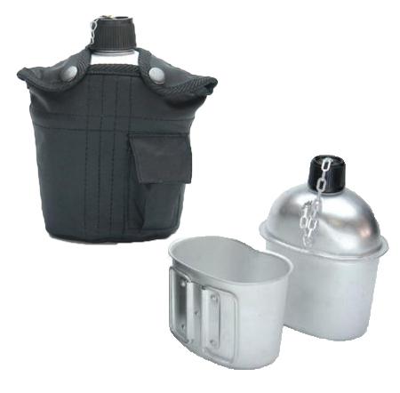 feldflaschen trinkflaschen aus alu oder kunststoff. Black Bedroom Furniture Sets. Home Design Ideas