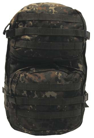 US Rucksack Assault II flecktarn