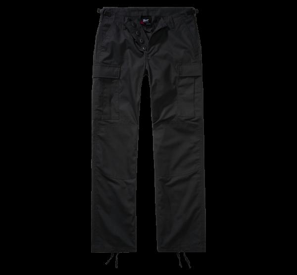 Brandit Ladies BDU Ripstop Trouser - schwarz - vorn - armyoutlet