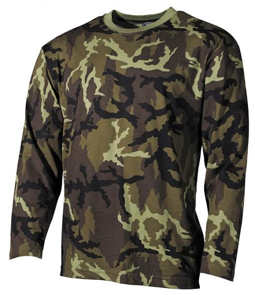 US Army Shirt Camouflage langarm