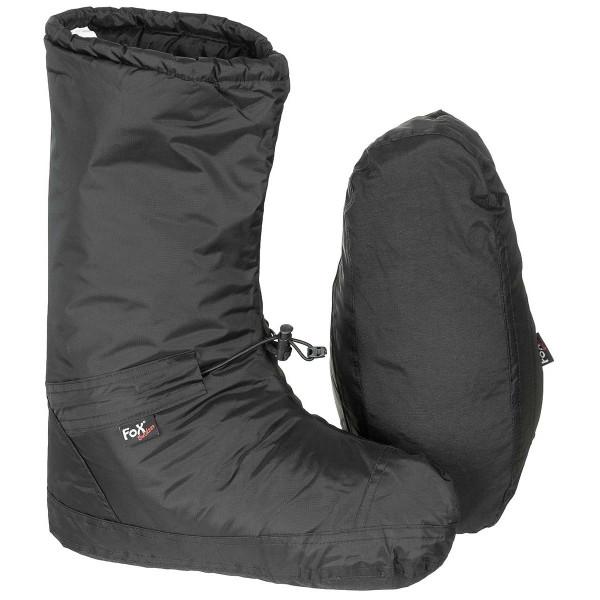 Biwakschuhe Polar winddicht - schwarz - ausgepackt - armyoutlet