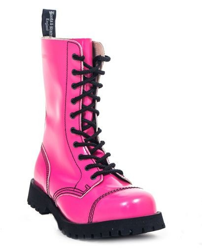 Boots & Braces 10 Loch Boots Hot Colour Pink