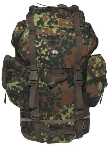 BW Kampfrucksack klein flecktarn cordura