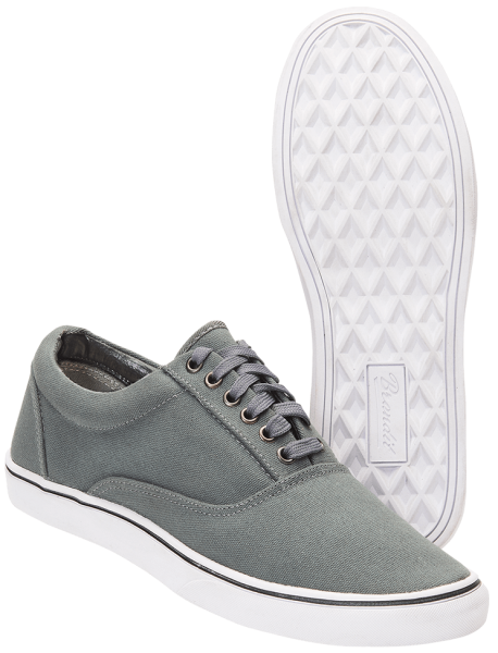 Brandit Bayside Canvas Sneaker grau