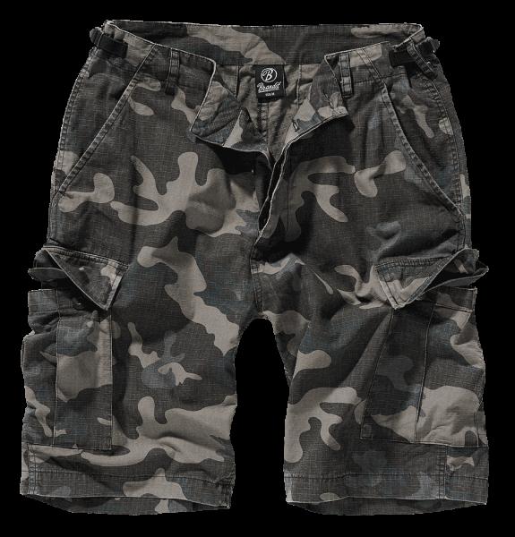 Brandit BDU Ripstop Shorts darkcamo vorn armyoutlet.de