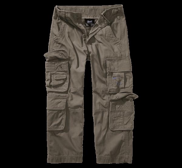 Brandit Kids Pure Trouser - oliv - vorn - armyoutlet