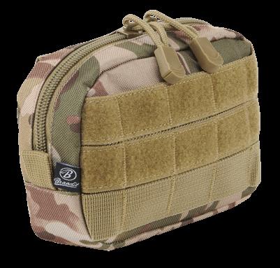 Brandit Molle Pouch Compact tactical camo vorn - armyoutlet.de