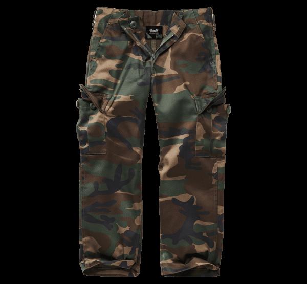 Brandit Kids US Ranger Trouser - woodland - vorn - armyoutlet