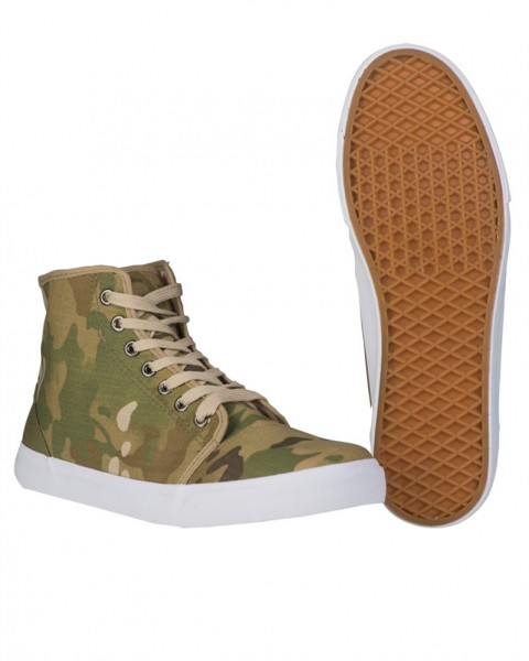 Army Sneaker Chucks multitarn