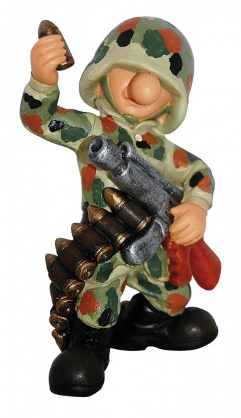 Fun Division Deko Figur Munition flecktarn