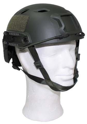 US Helm FAST Fallschirmjäger oliv