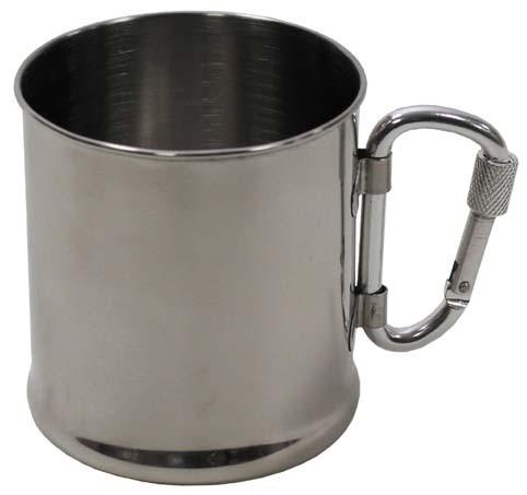 Tasse mit Karabiner 220 ml