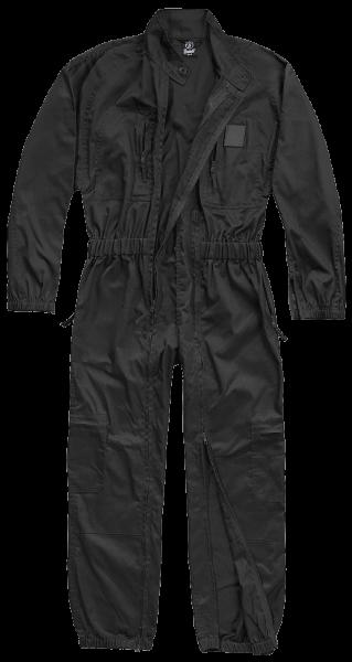 Brandit Einsatzkombi schwarz vorn - armyoutlet.de