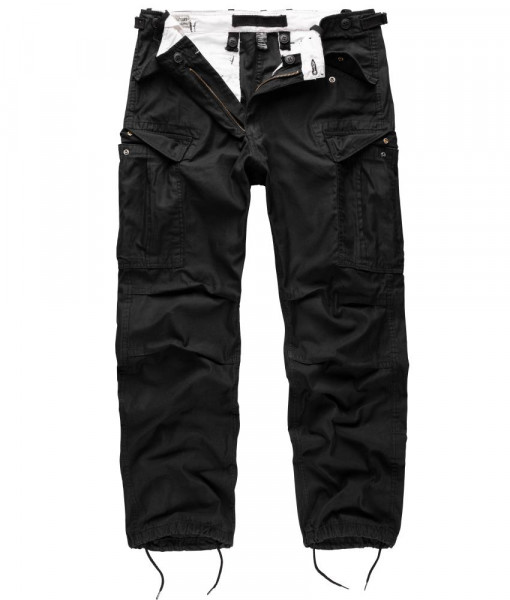 Surplus Vintage Fatigue Trousers - armyoutlet - schwarz vorn