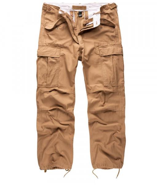 Surplus Vintage Fatigue Trousers - armyoutlet - beige vorn