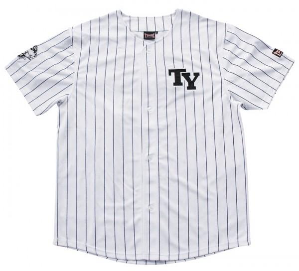 Tysonz Baseball Shirt Streifenlook