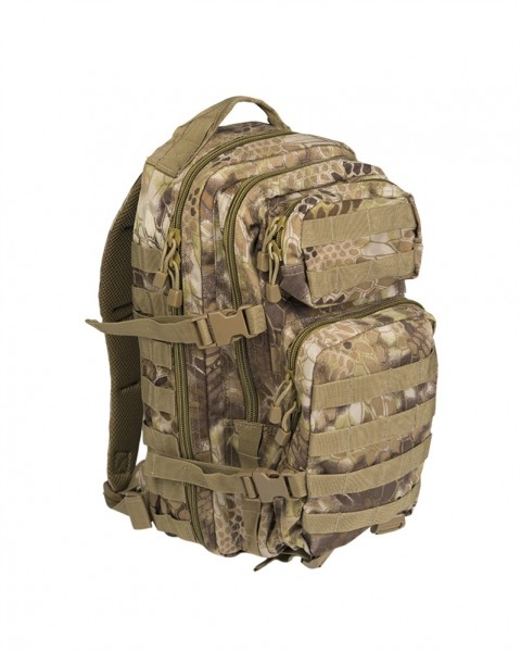 US Assault Pack Rucksack small mandra tan