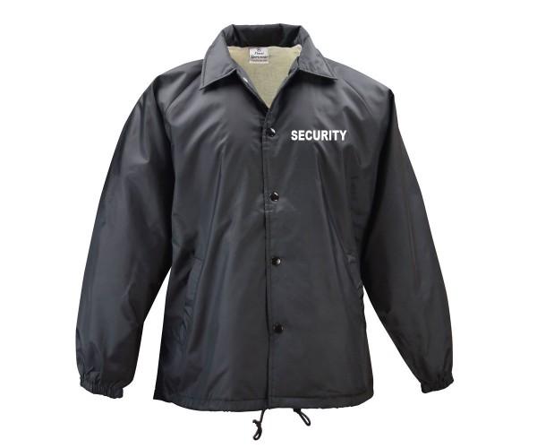 Windbreaker Blouson Security mit Front und Rückendruck