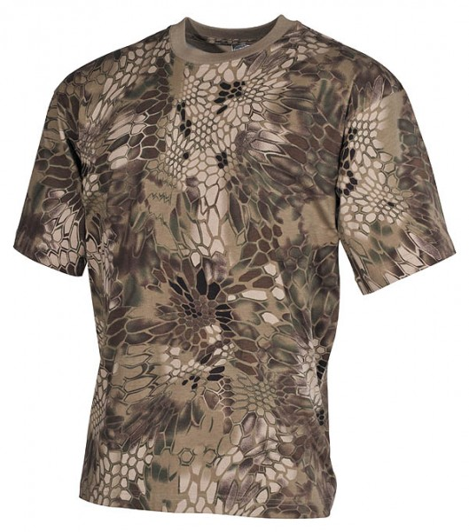 US T-Shirt halbarm snake FG