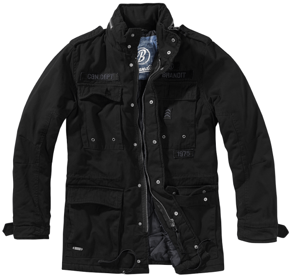 Brandit Ryan M65 Winterjacket schwarz