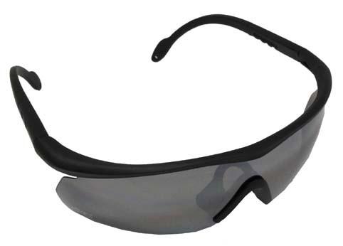 Armee Sportbrille Storm schwarz