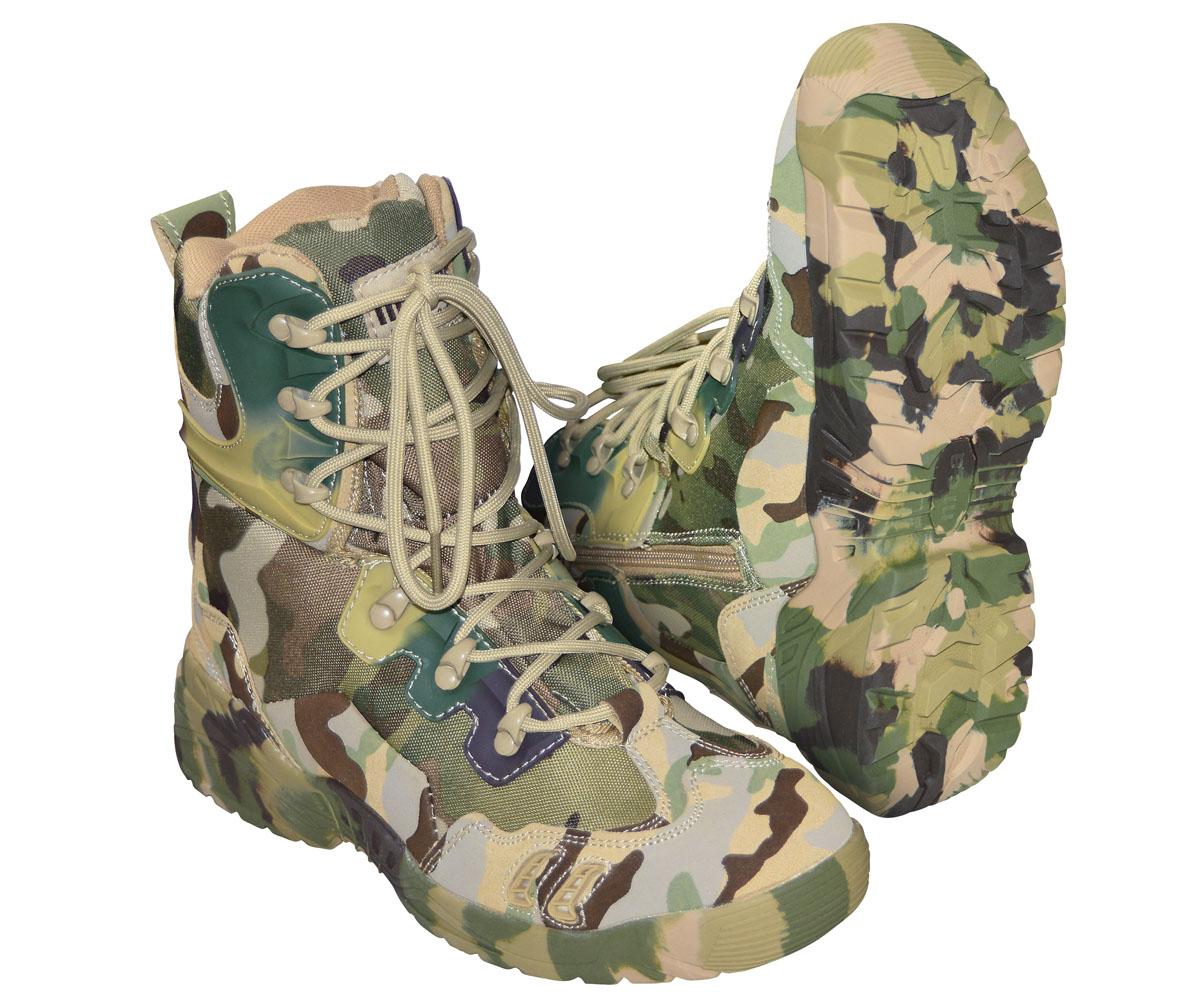 All Terrain Boots Parabellum mit Side Zip