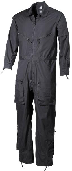 Security Overall schwarz mit Rückenpatch
