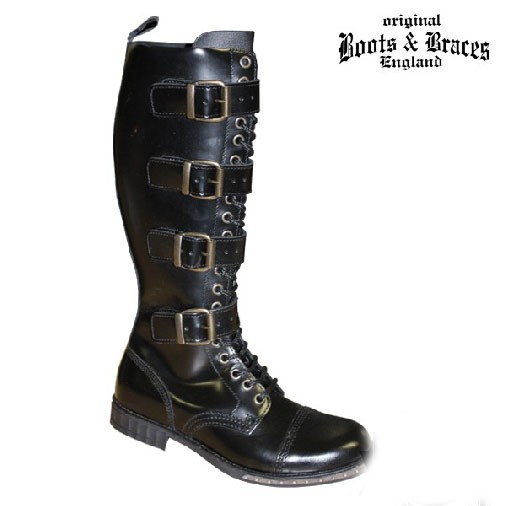 Boots & Braces 20 Loch Boots 4 Buckles Steampunk