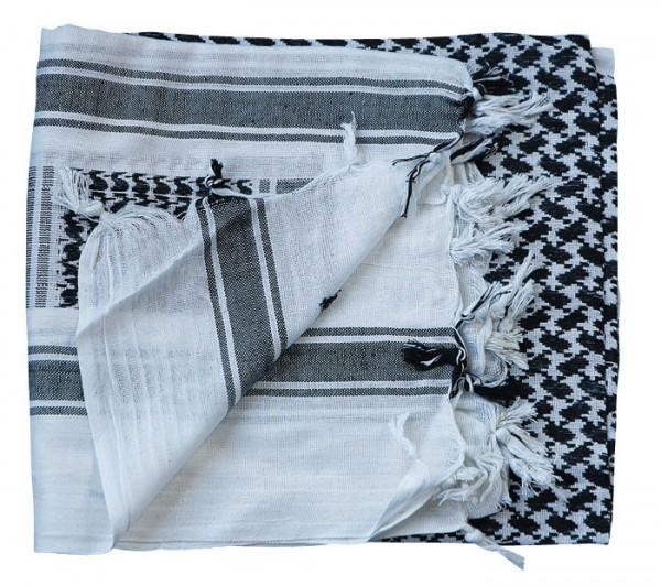 PLO - Shemagh Tuch schwarz-weiß