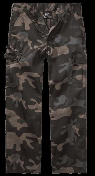 Brandit Kids US Ranger Trouser - darkcamo - vorn - armyoutlet