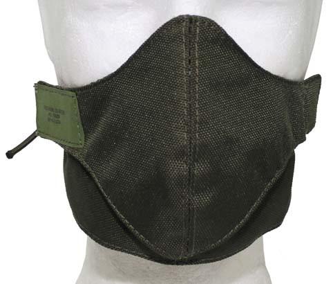 Mundschutzmaske oliv 2-teilig
