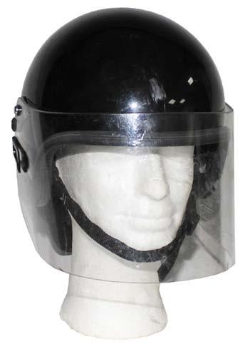 Brit. Polizeihelm schwarz